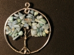 Green Tree Pendant